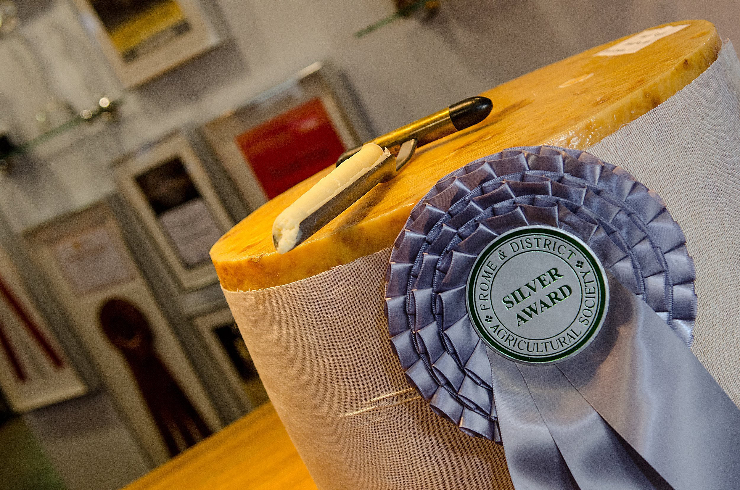 Cheddar Gorge Cheese Company Silver Award Winner