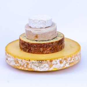 Cheddar Gorge Cheese Wedding Cake