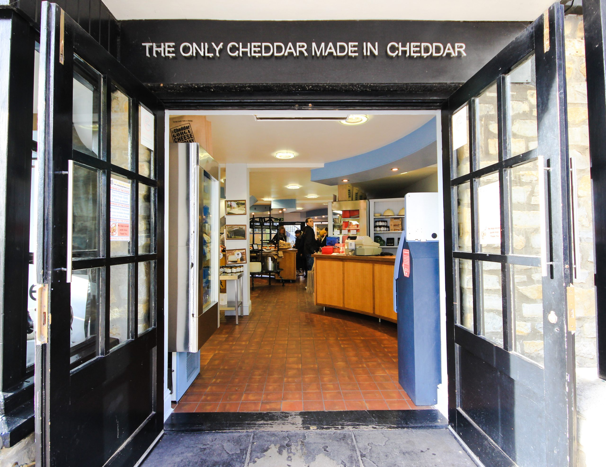 Cheddar Gorge Cheese Company Visitors Centre