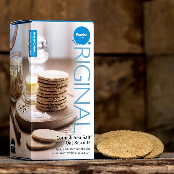 Cornish Sea Salt Oat Biscuits