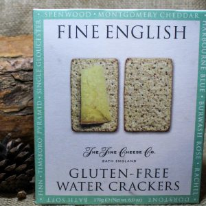 Gluten Free Water Crackers